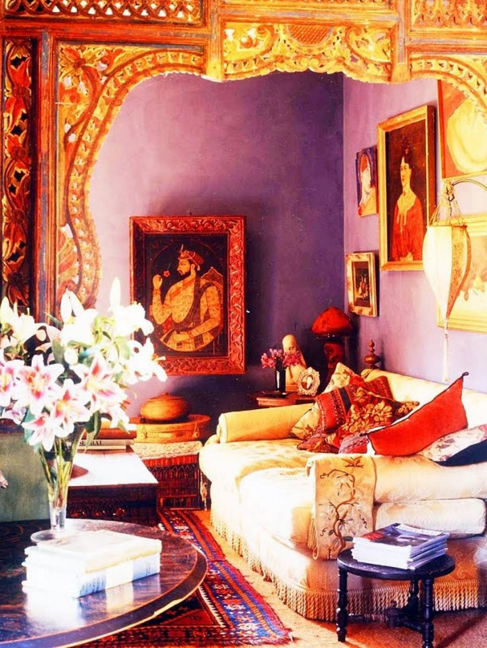 12 id es de d coration inspir es de l 39 inde bricobistro Gorgeous small bedroom designs for indian homes