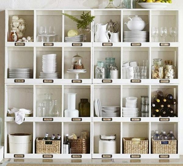 12 Idées Pour Créer Une Déco Cosy Dans Son Salon Cet Hiver: 12 Idées De Solution De Rangement Pour Le Garde-manger