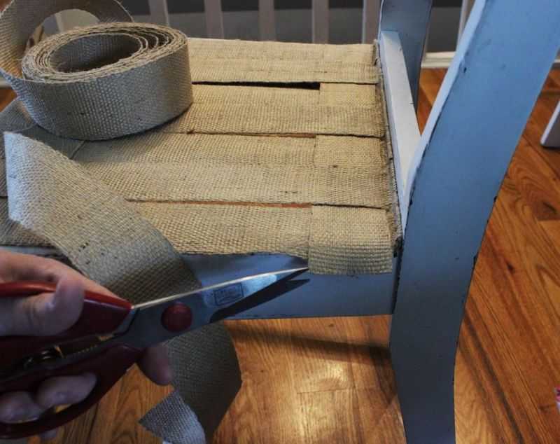 relooking chaise diy15