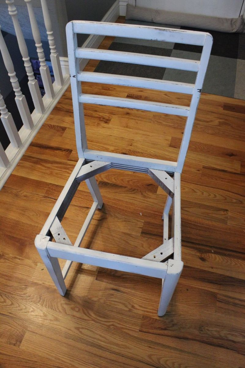 relooking chaise diy2