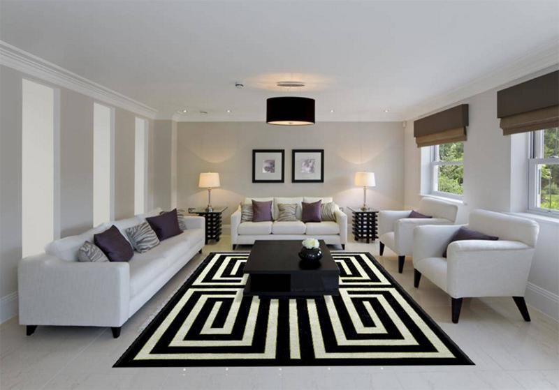 tapis noir blanc2