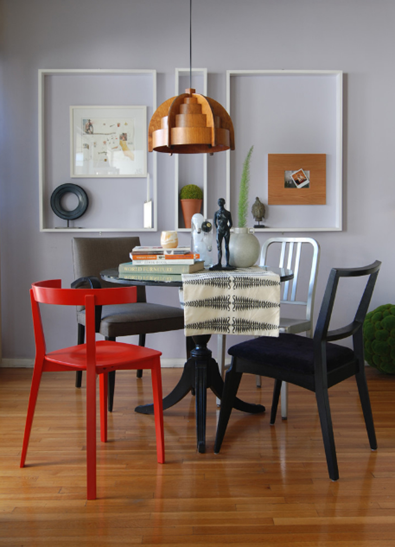 chaise accent rouge2