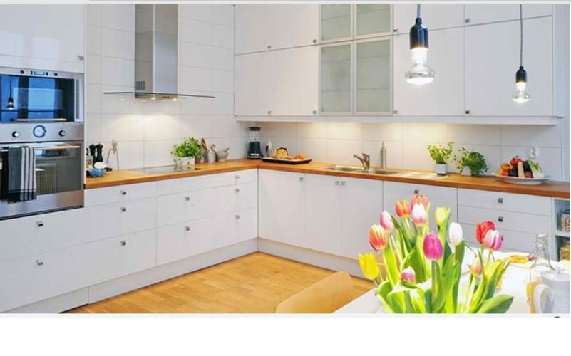 cuisine monochrome blanc9