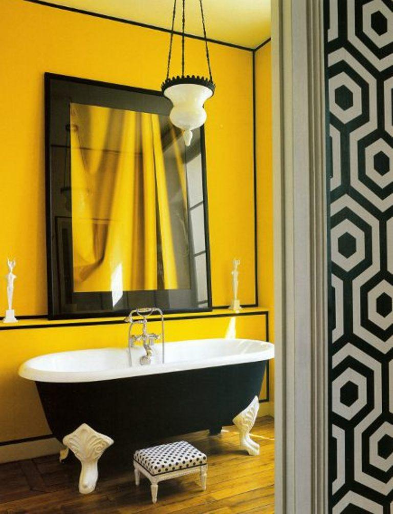 salle de bain colorée2