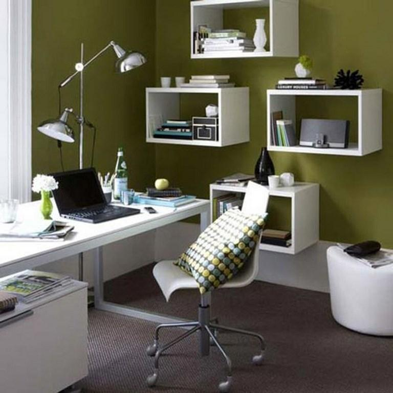 12 id es de couleur pour les murs de votre bureau la maison bricobistro. Black Bedroom Furniture Sets. Home Design Ideas