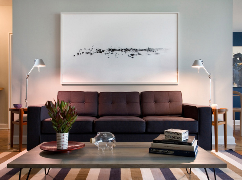 salon canapé noir11