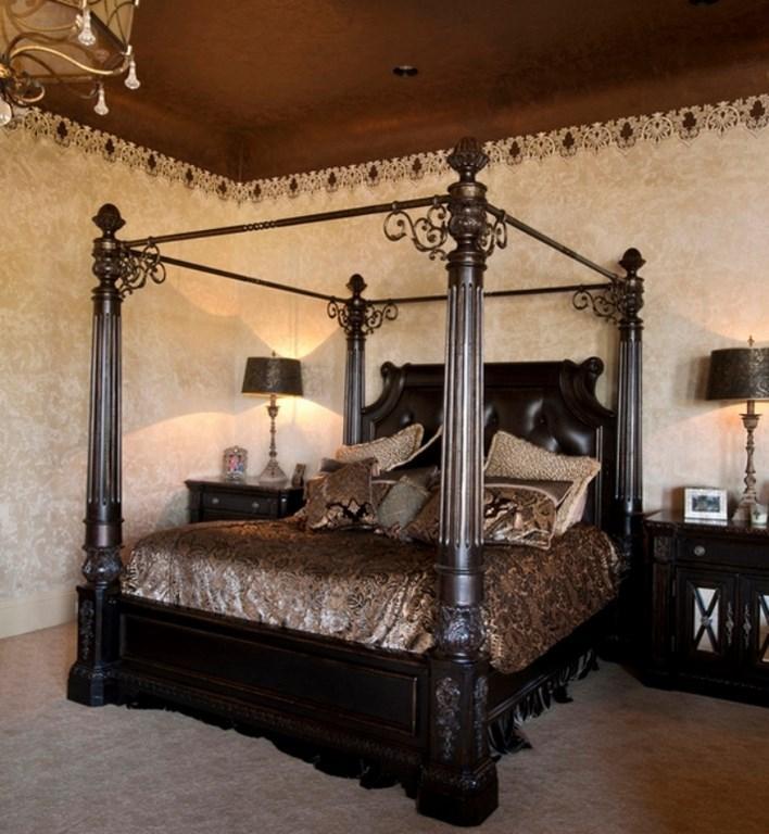 12 impressionnantes décorations de chambre gothique