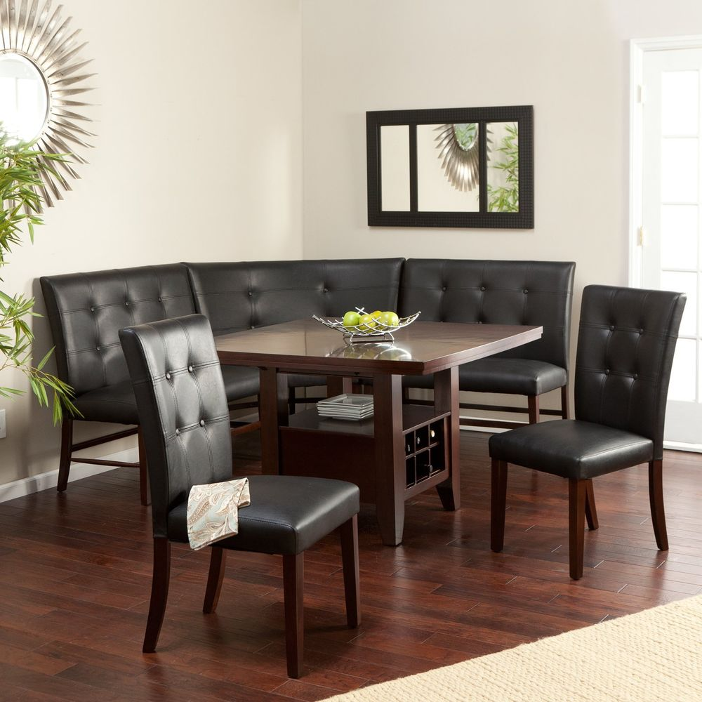 10 superbes coins repas avec une belle banquette d 39 angle bricobistro. Black Bedroom Furniture Sets. Home Design Ideas