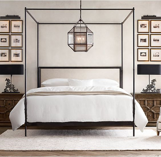 12 id es de lit baldaquin et de ciel de lit pour une somptueuse chambre bricobistro. Black Bedroom Furniture Sets. Home Design Ideas