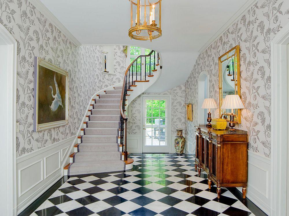 Comment d corer votre hall d entr e avec des vases poser for Decoration a poser au sol